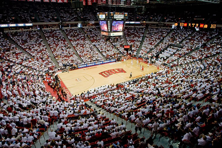 UNLV's Thomas and Mack arena