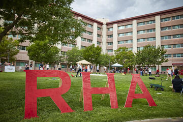 Exterior of residence halls