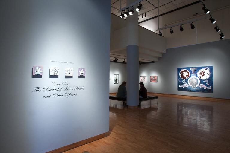 Exhibit in the Donna Beam Gallery